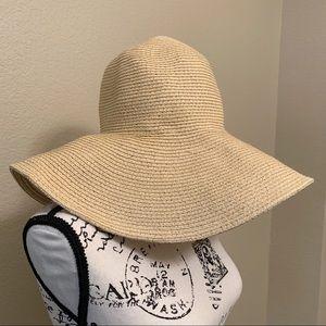 J Crew Floppy Straw Sun Hat